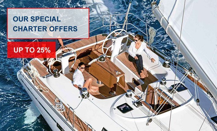 Special Yacht Charter in Greece Offers